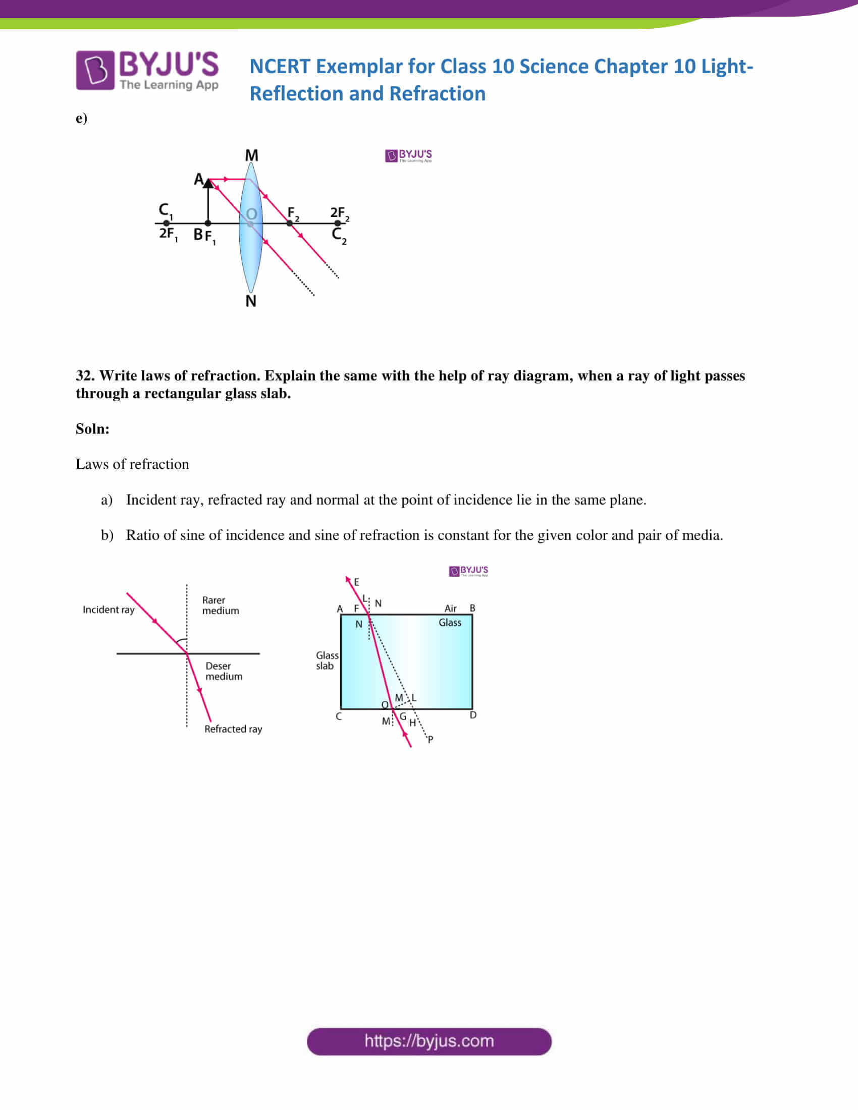 NCERT Exemplar solution class 10 science Chapter 10 part 18