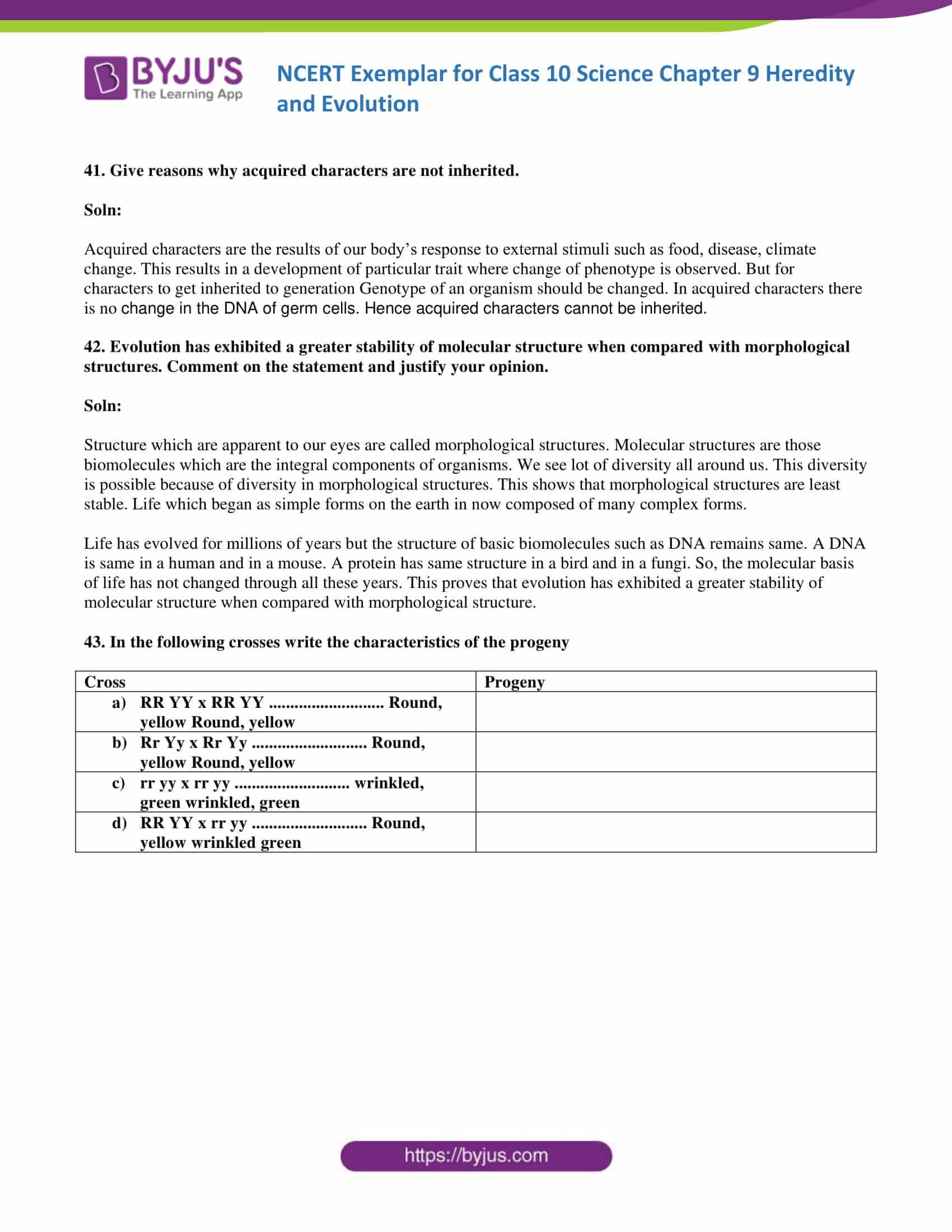NCERT Exemplar solution class 10 science Chapter 9 part 14