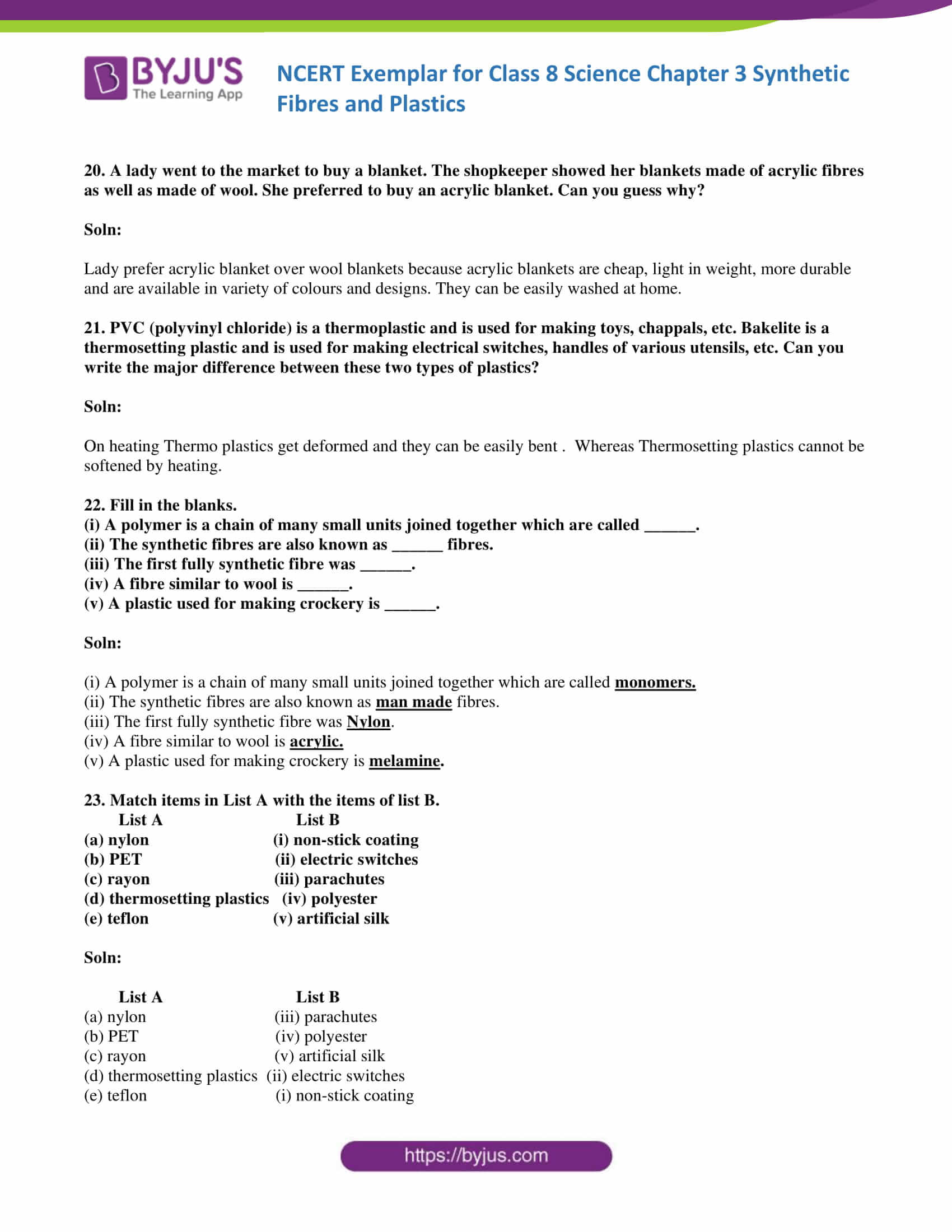 NCERT Exemplar solution class 8 Chapter 3 part 06