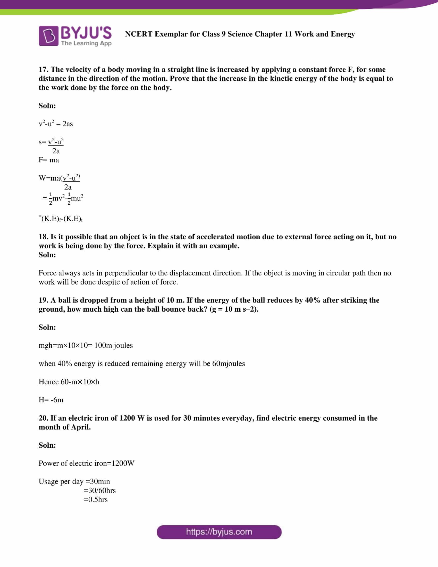NCERT Exemplar solution class 9 Chapter 11 part 06