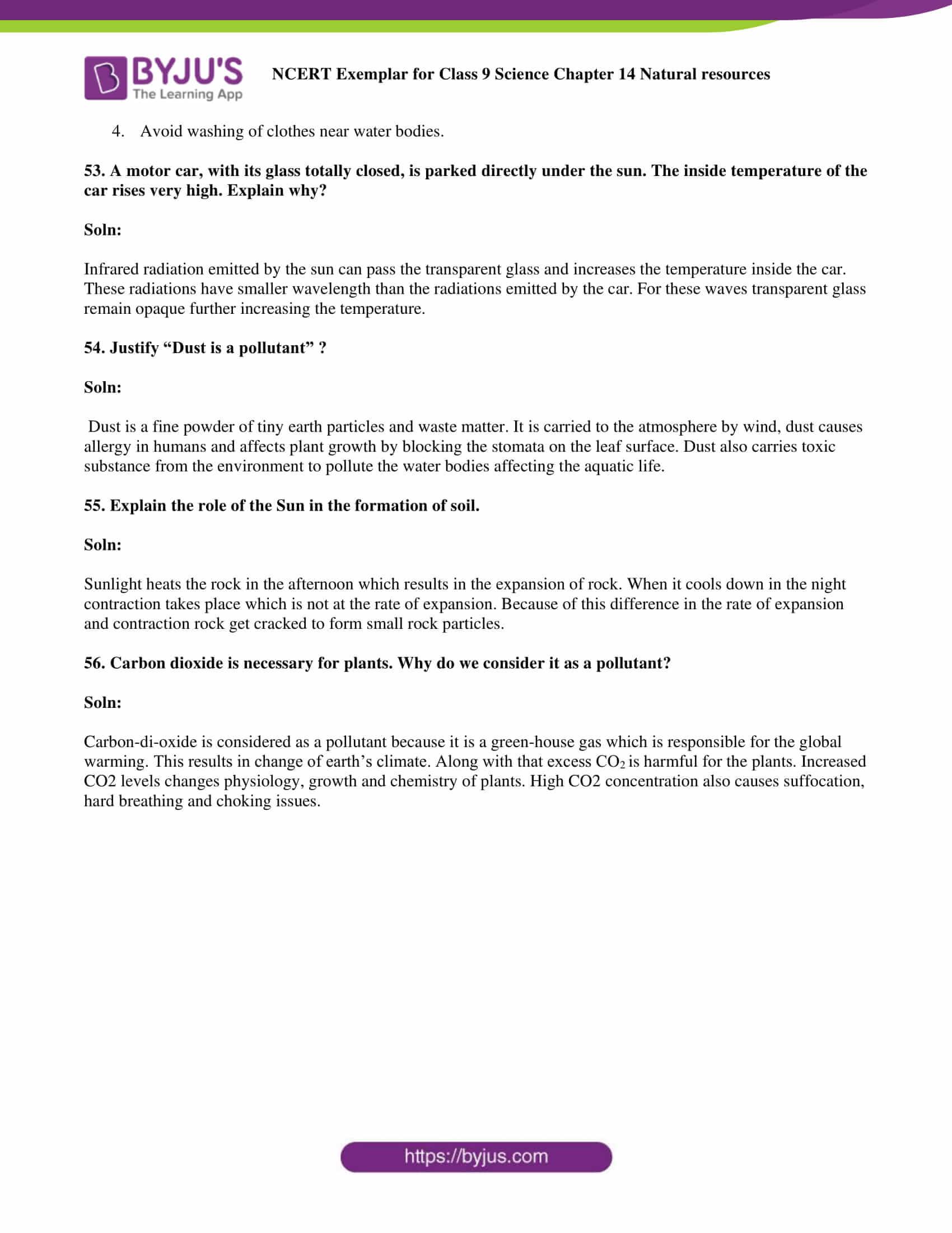 NCERT Exemplar solution class 9 Science Chapter 14 part 14