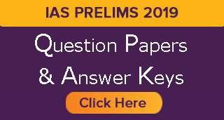 UPSC prelims 2019 Answer Key