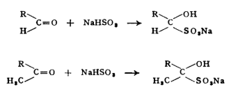 Sodium Bisulfite Test