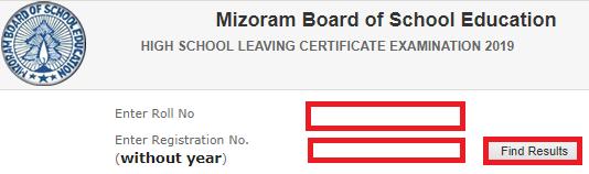 Steps to Check Mizoram Board HSLC Result 2019-2