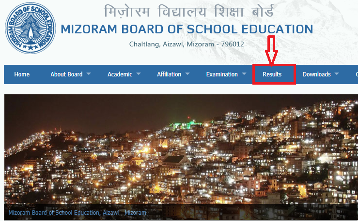 Steps to Check Mizoram Board HSLC Result 2019