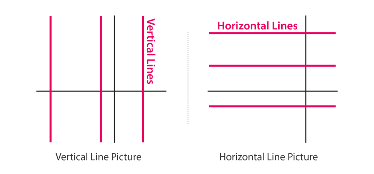 Vertical and Horizontal Line