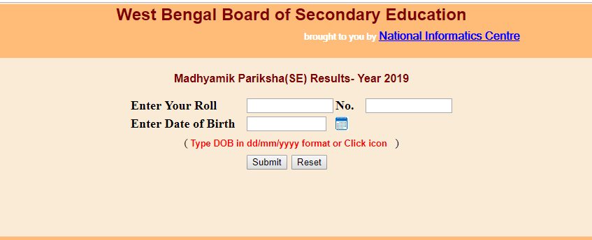West Bengal Board Class 10 Results 2019