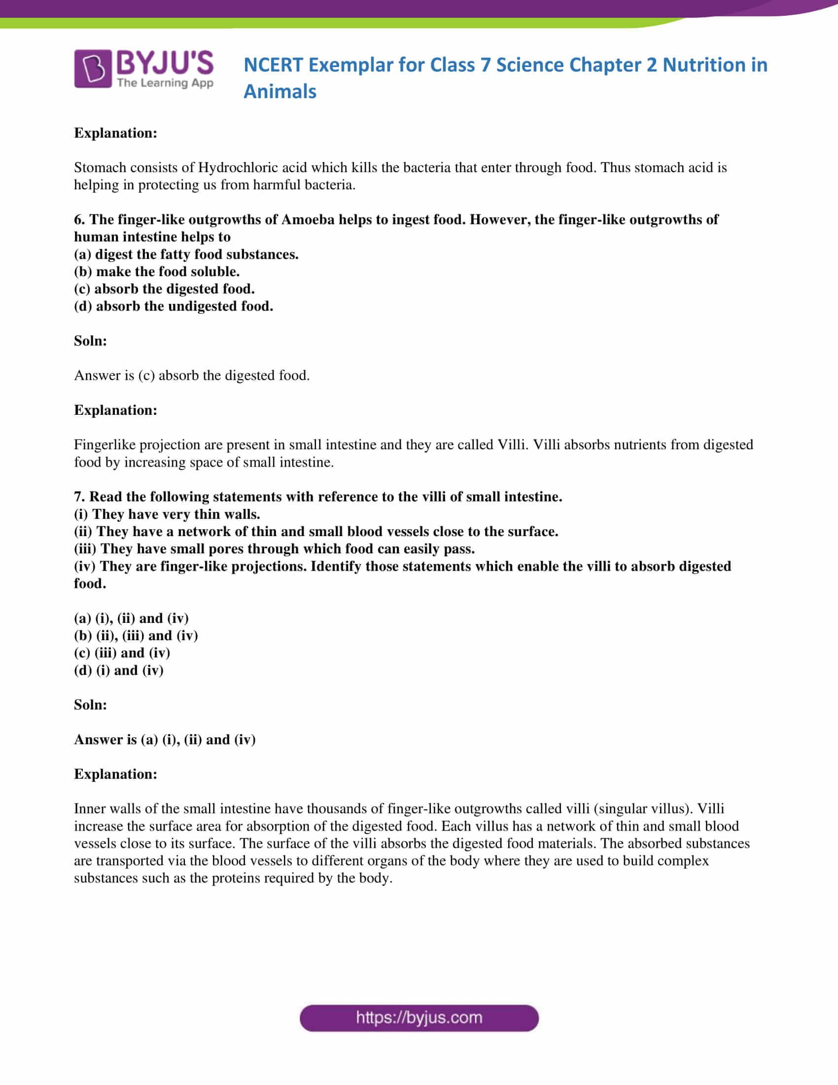 NCERT Exemplar solution class 7 science Chapter 2 03