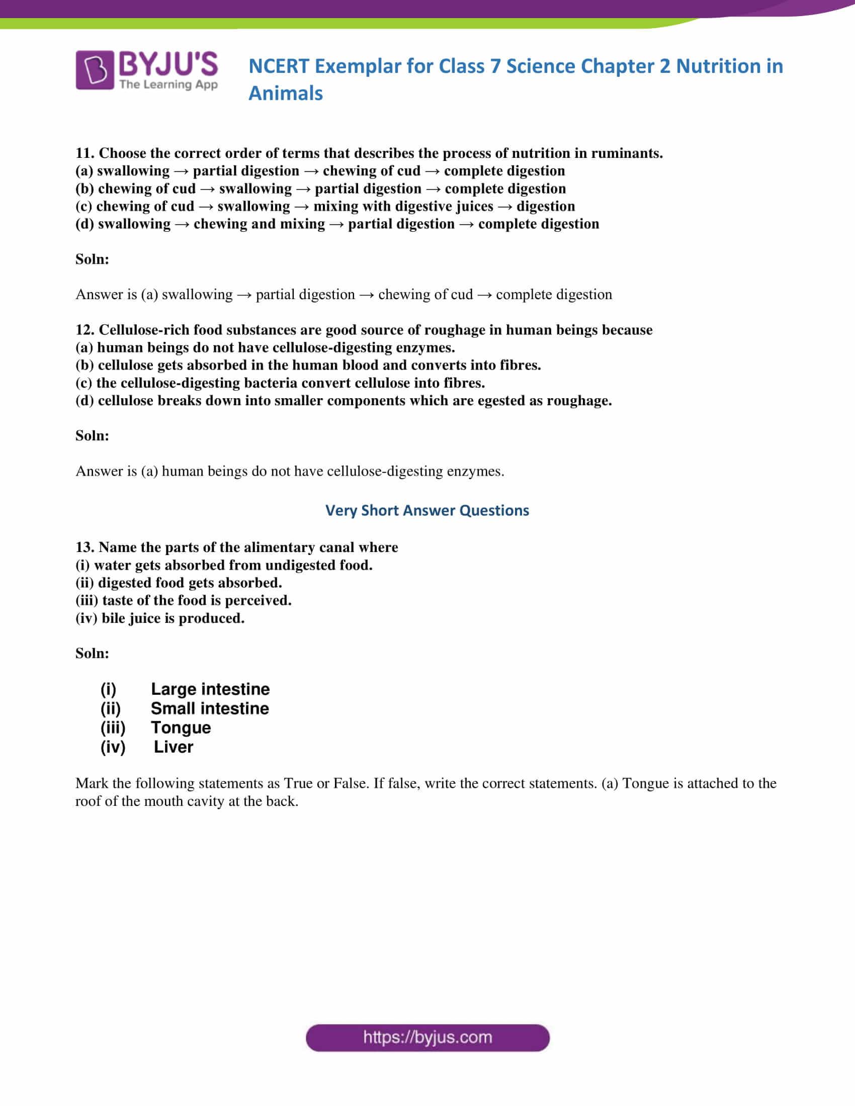 NCERT Exemplar solution class 7 science Chapter 2 05