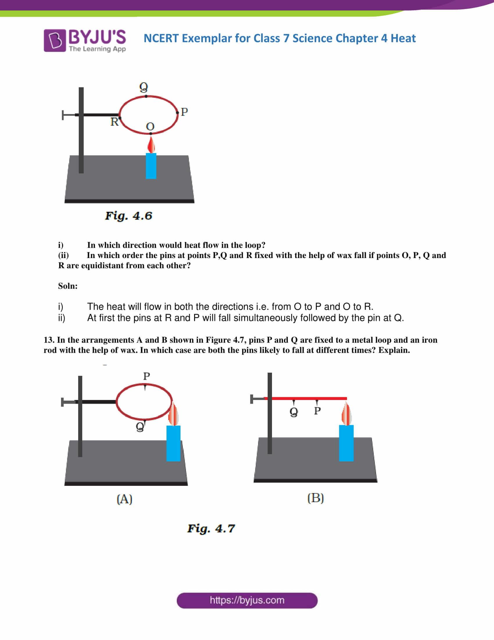 NCERT Exemplar solution class 7 science Chapter 4 6