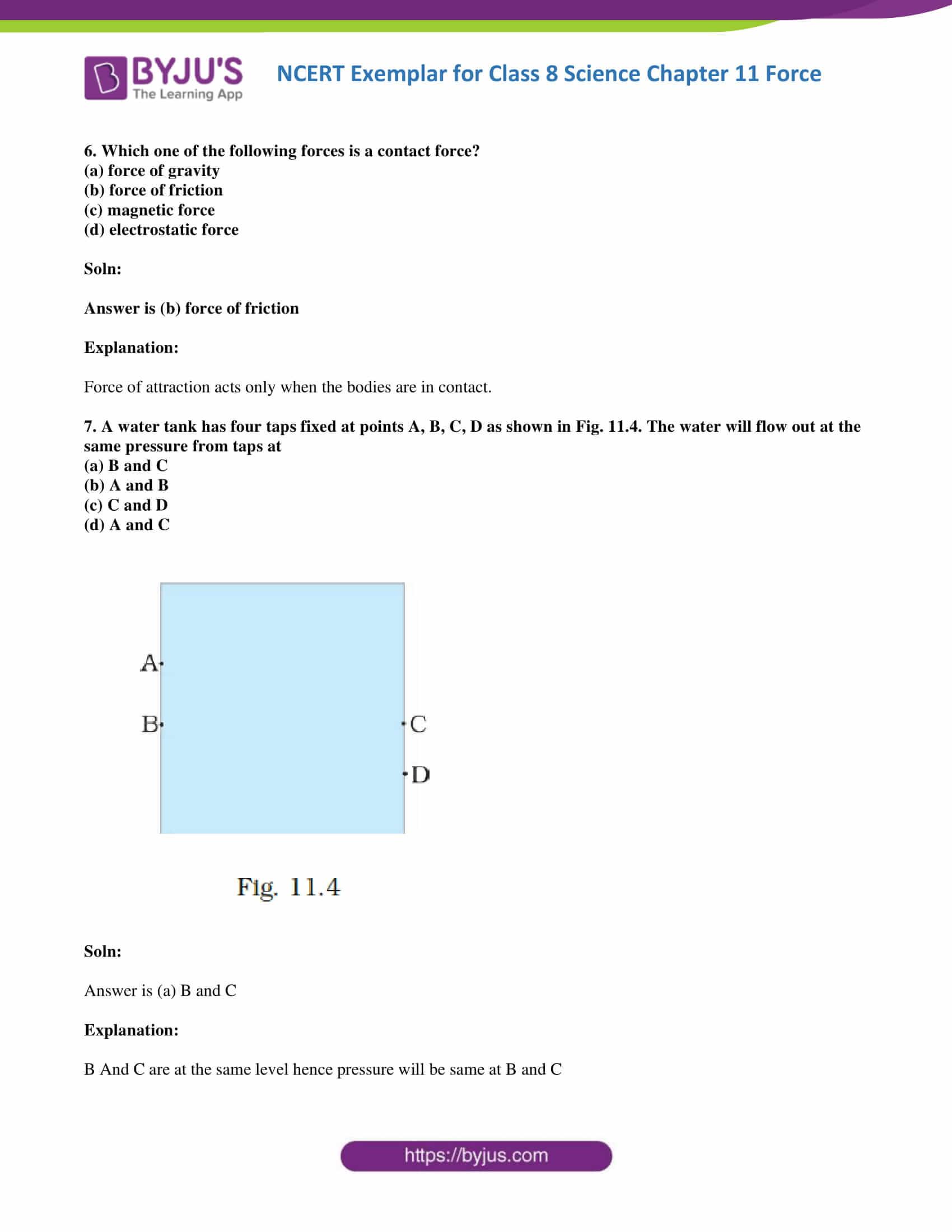 NCERT Exemplar solution class 8 Science Chapter 11 part 04