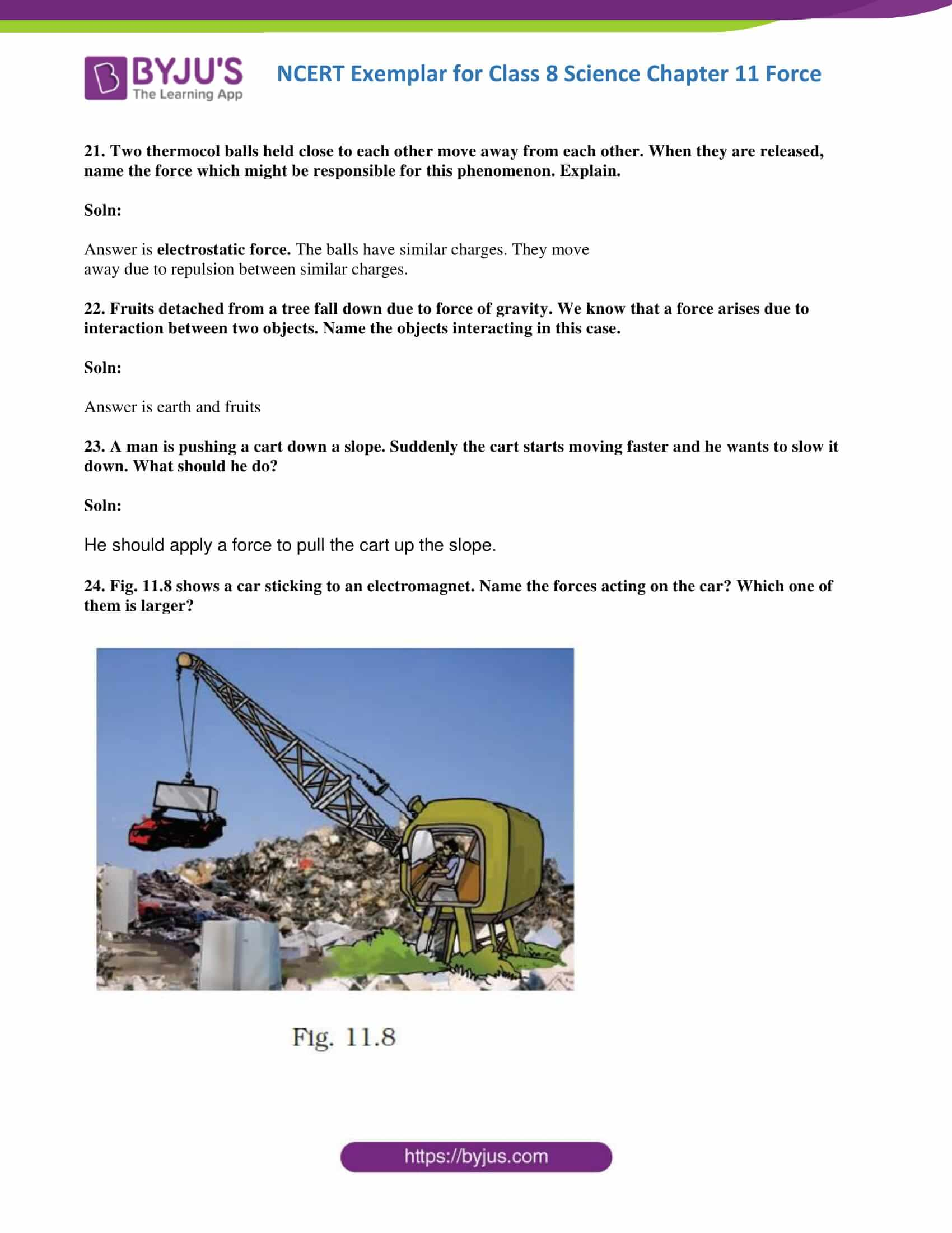 NCERT Exemplar solution class 8 Science Chapter 11 part 08