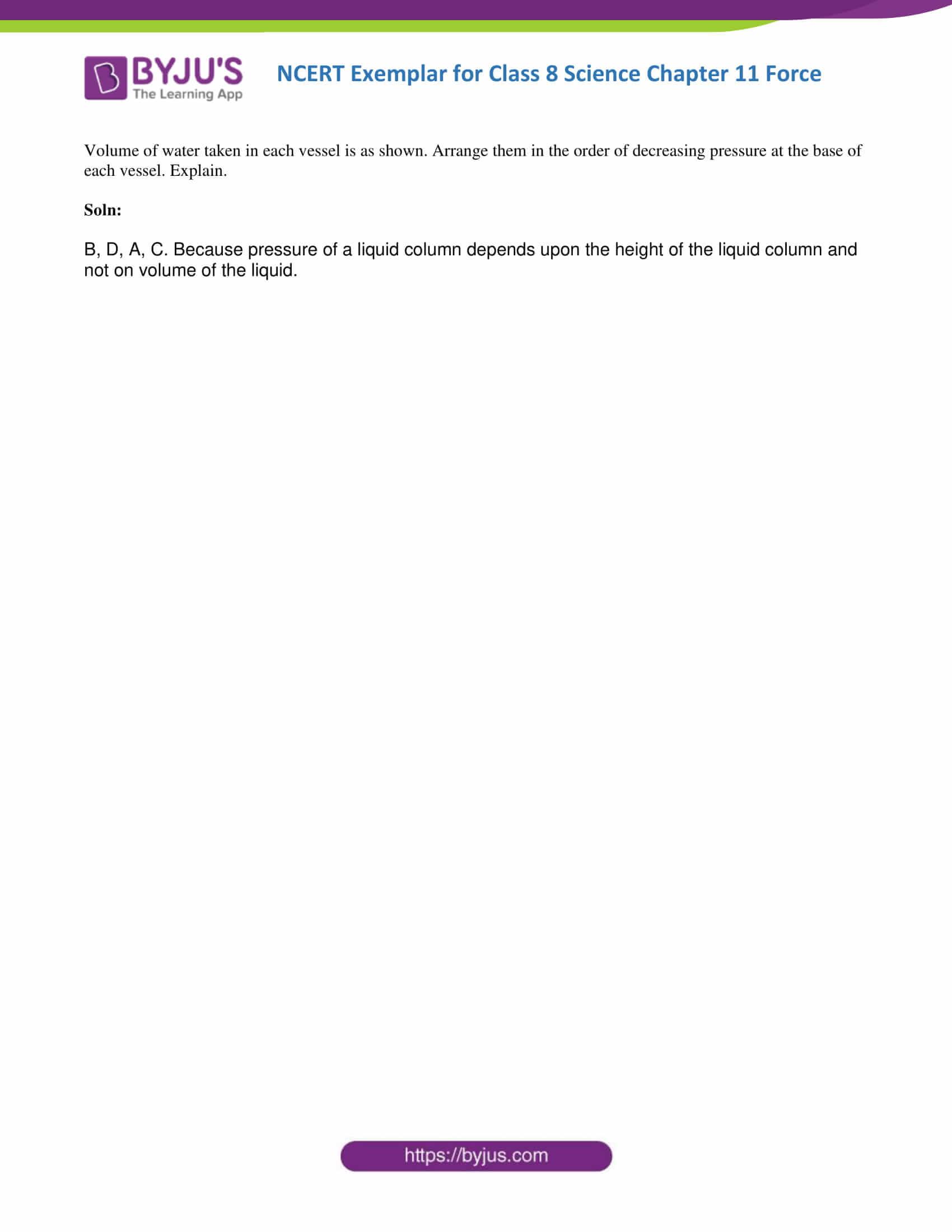 NCERT Exemplar solution class 8 Science Chapter 11 part 11