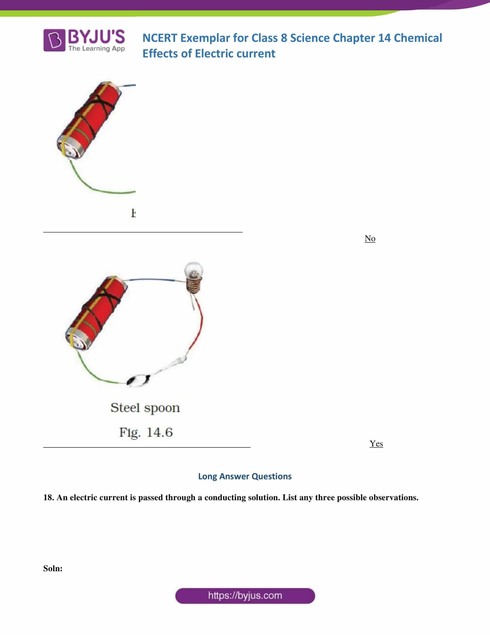 NCERT Exemplar solution class 8 science chapter 14 part 09