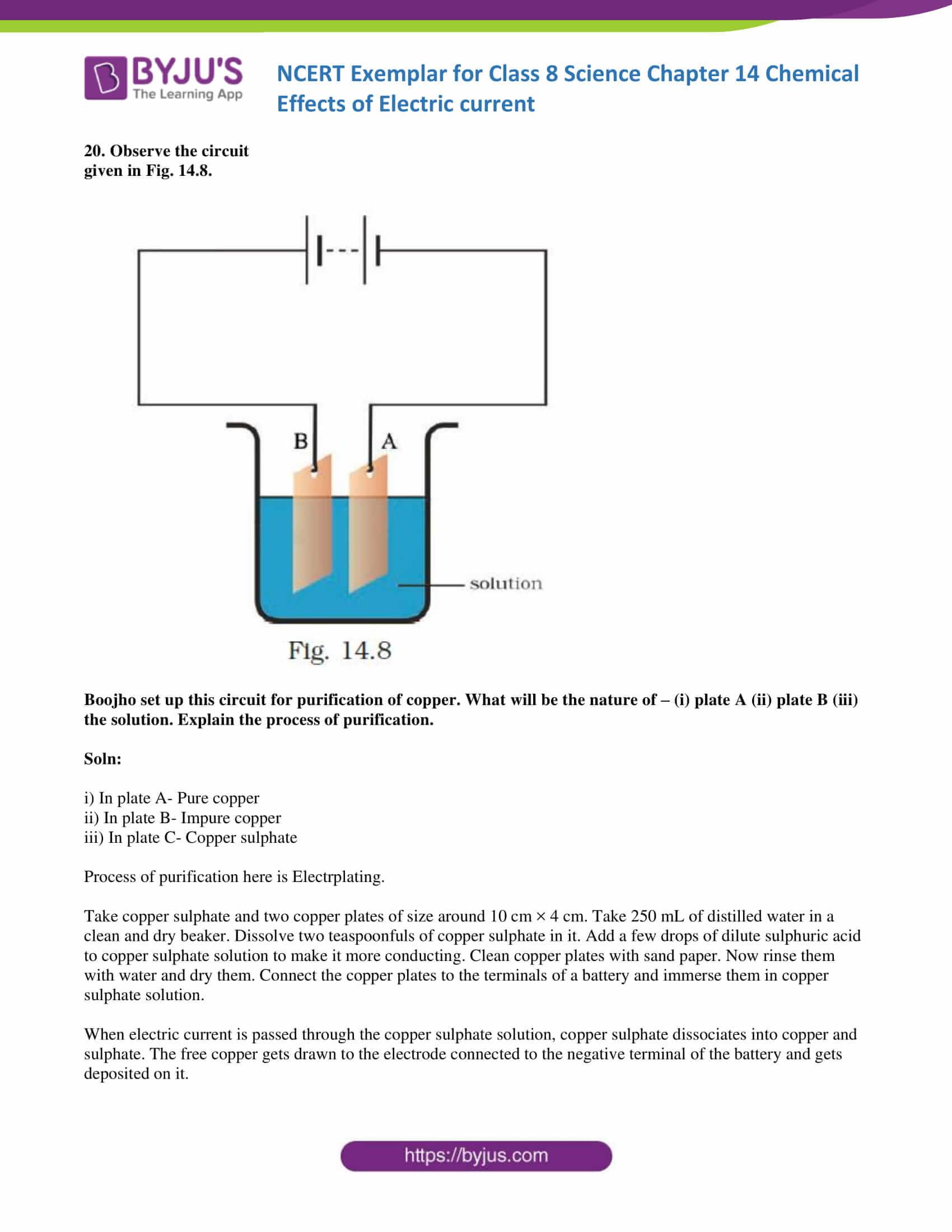 NCERT Exemplar solution class 8 science chapter 14 part 11