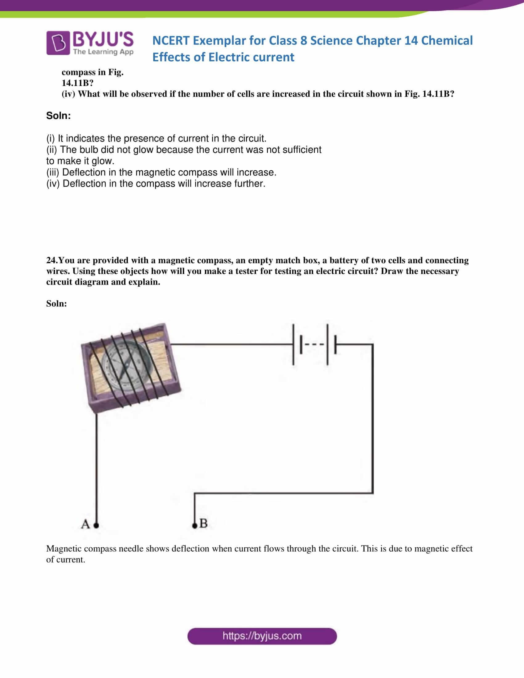 NCERT Exemplar solution class 8 science chapter 14 part 14