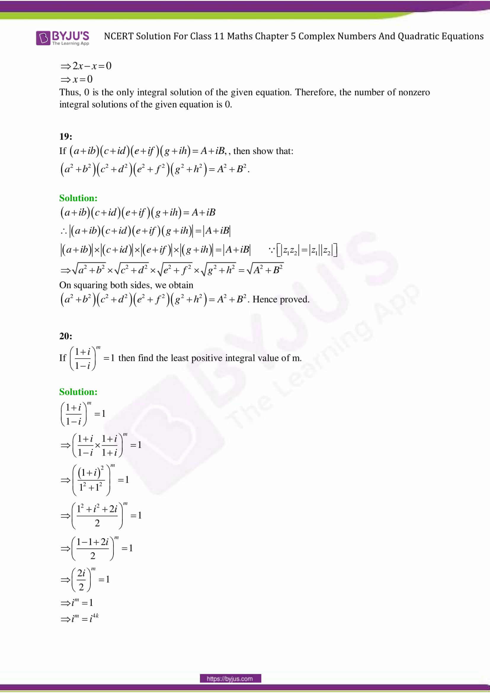 Alge Chapter Quadratic Equations And Functions Answers on