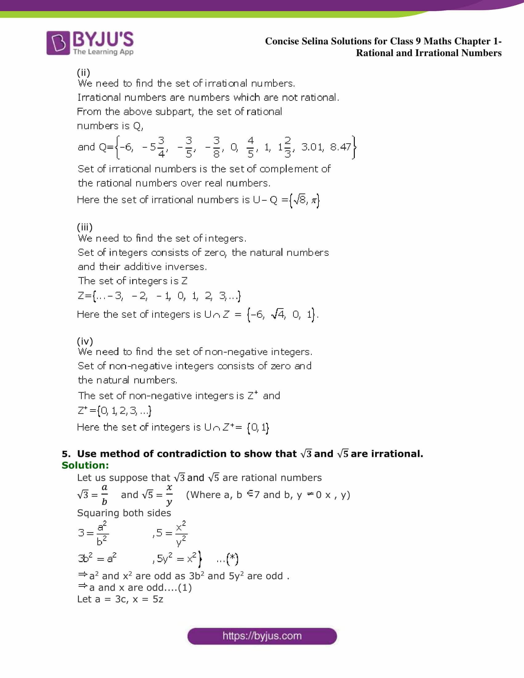 Selina Solutions Class 9 Maths Chapter 1 Rational And Irrational Numbers part 09