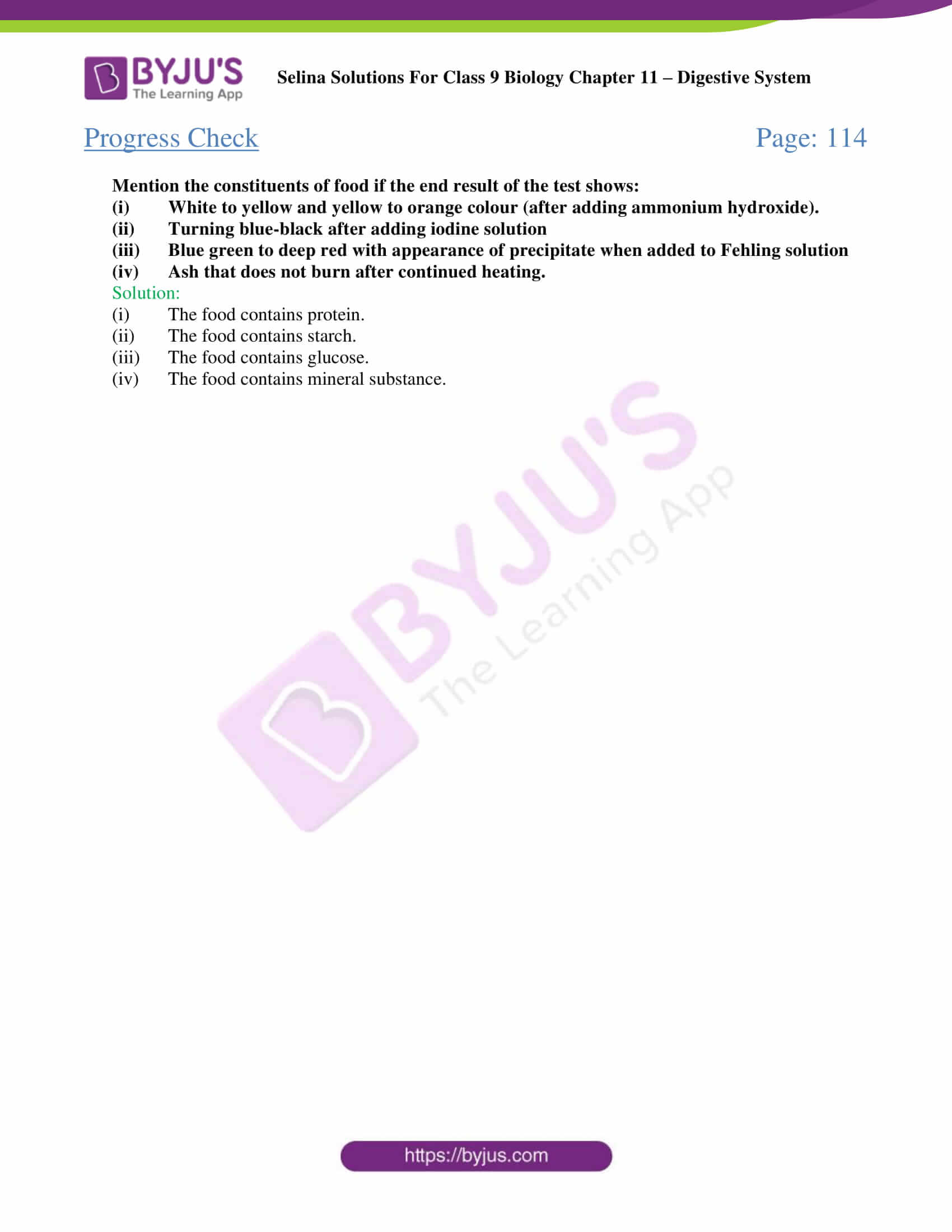 selina Solutions For Class 9 Biology Chapter 11 part 05