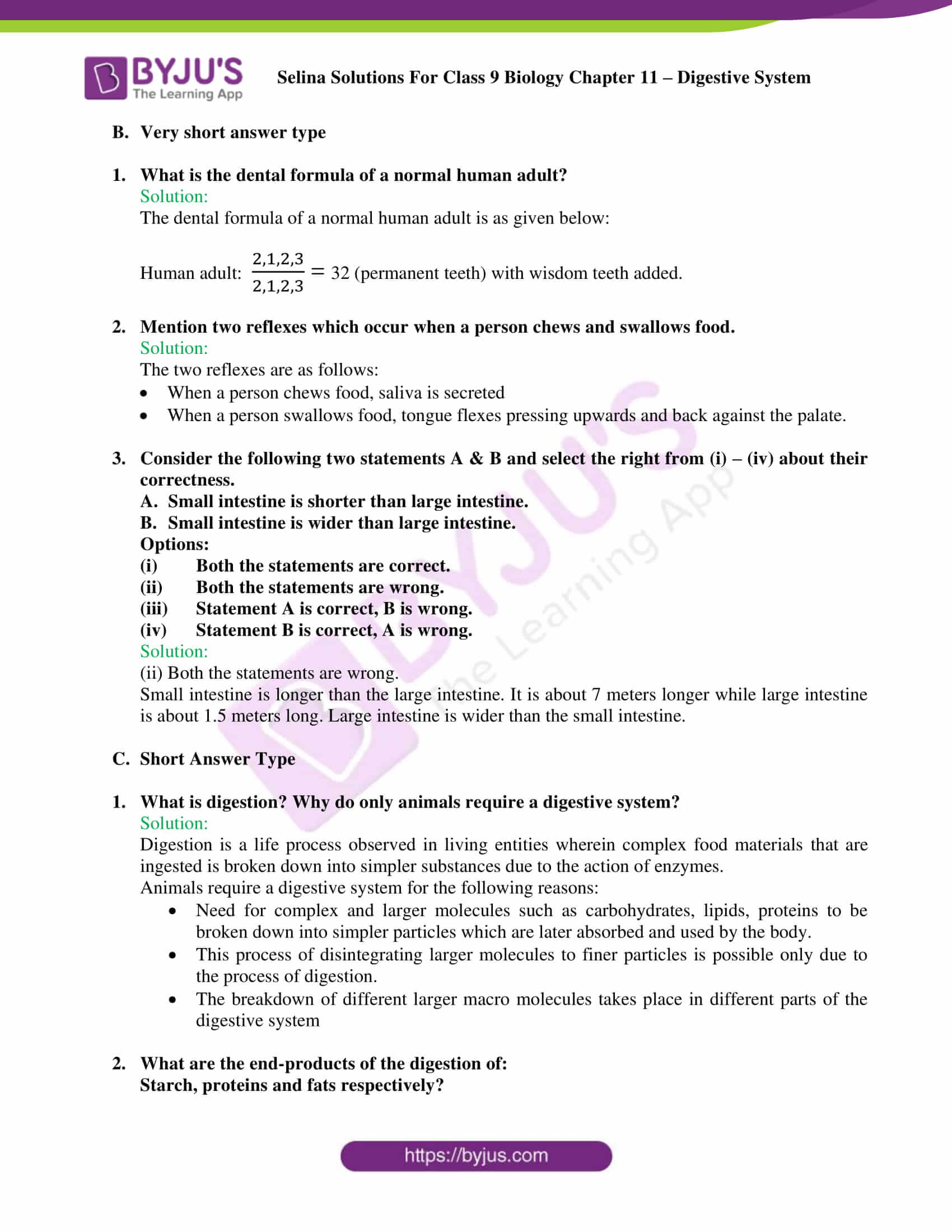 selina Solutions For Class 9 Biology Chapter 11 part 07