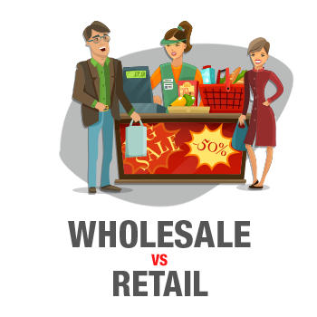 Wholesale vs Retail