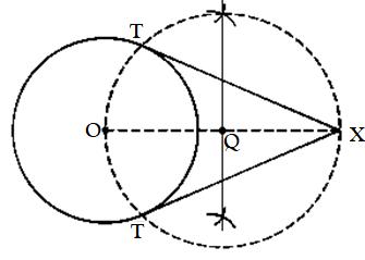 Class 10 maths chapter 11 constructions Ex 11.3-1