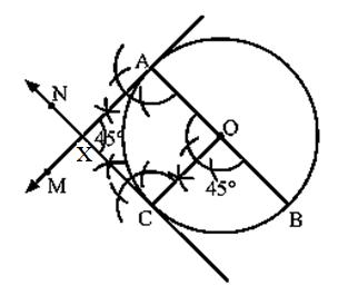 Class 10 maths chapter 11 constructions Ex 11.3-10