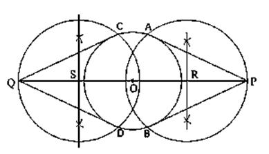 Class 10 maths chapter 11 constructions Ex 11.3-4