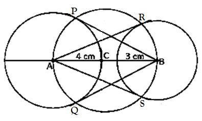 Class 10 maths chapter 11 constructions Ex 11.3-5