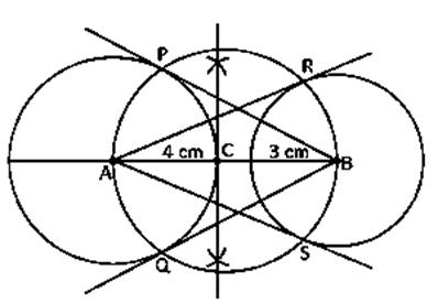 Class 10 maths chapter 11 constructions Ex 11.3-6