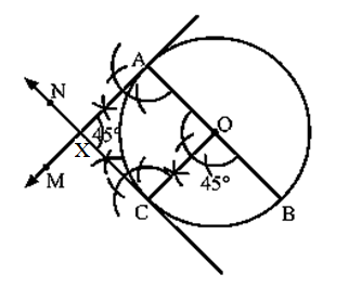 Class 10 maths chapter 11 constructions Ex 11.3-9