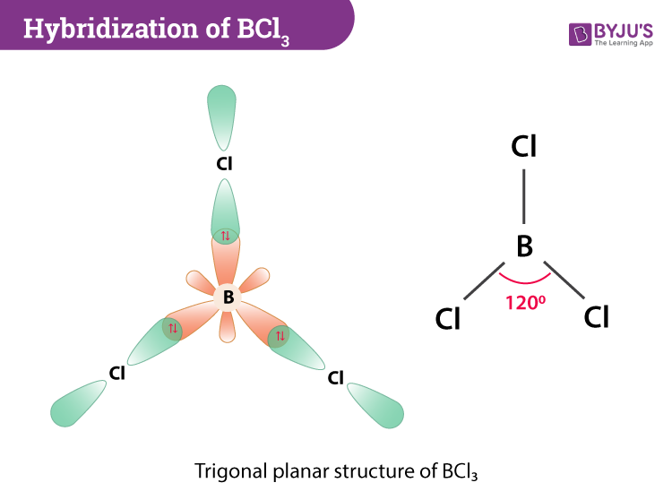 Hybridization Of BCl3