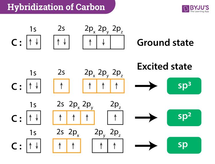 Hybridization Of Carbon