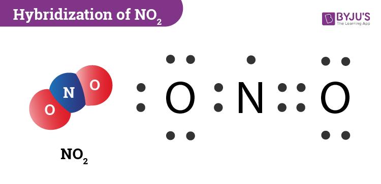 Hybridization Of NO2