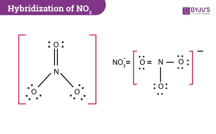 Hybridization Of NO3- Ion