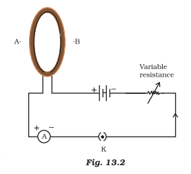 ncert solutions class 10 science chapter 13 magnetic effects electric current fig 2