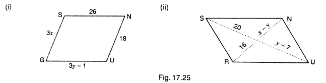 Parallelogram Examples