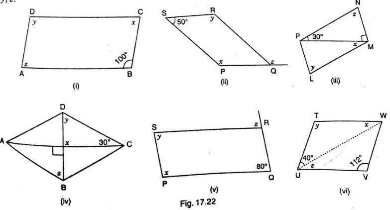 Parallelogram Shapes