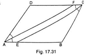 Problem on Parallelogram
