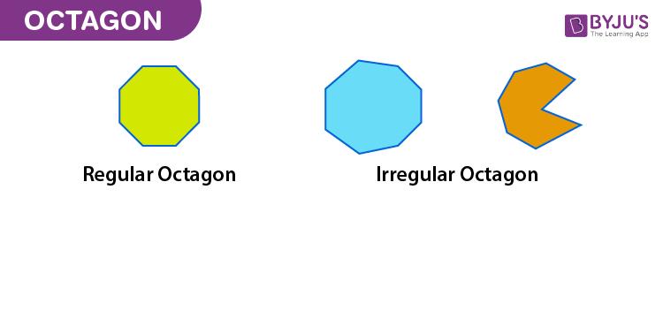 Regular and Irregular Octagon