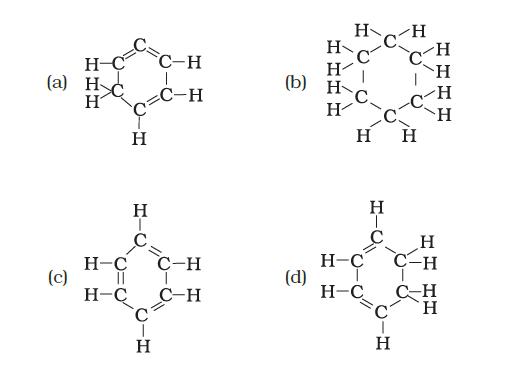 Structural formula of benzene