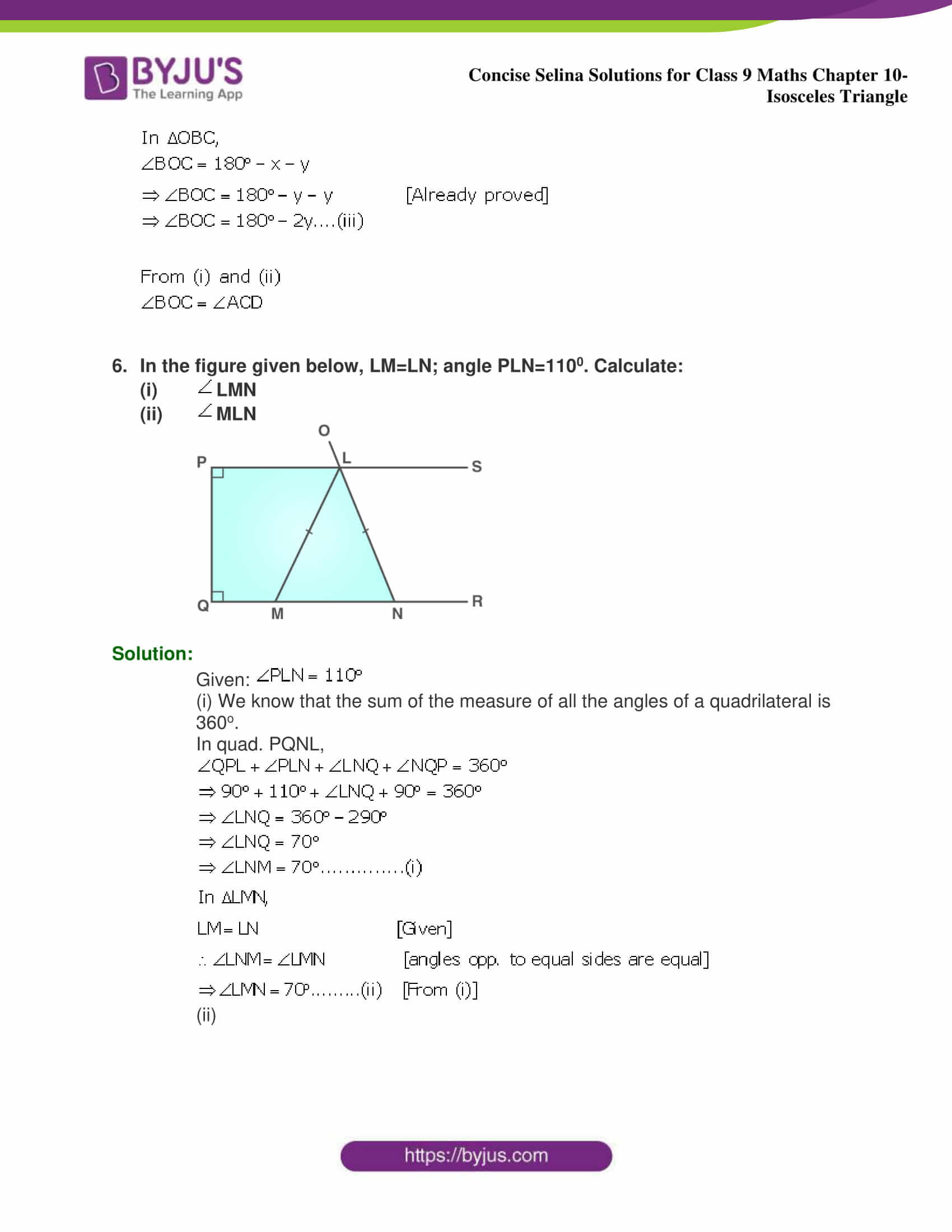 selina Solutions for Class 9 Maths Chapter 10 part 07