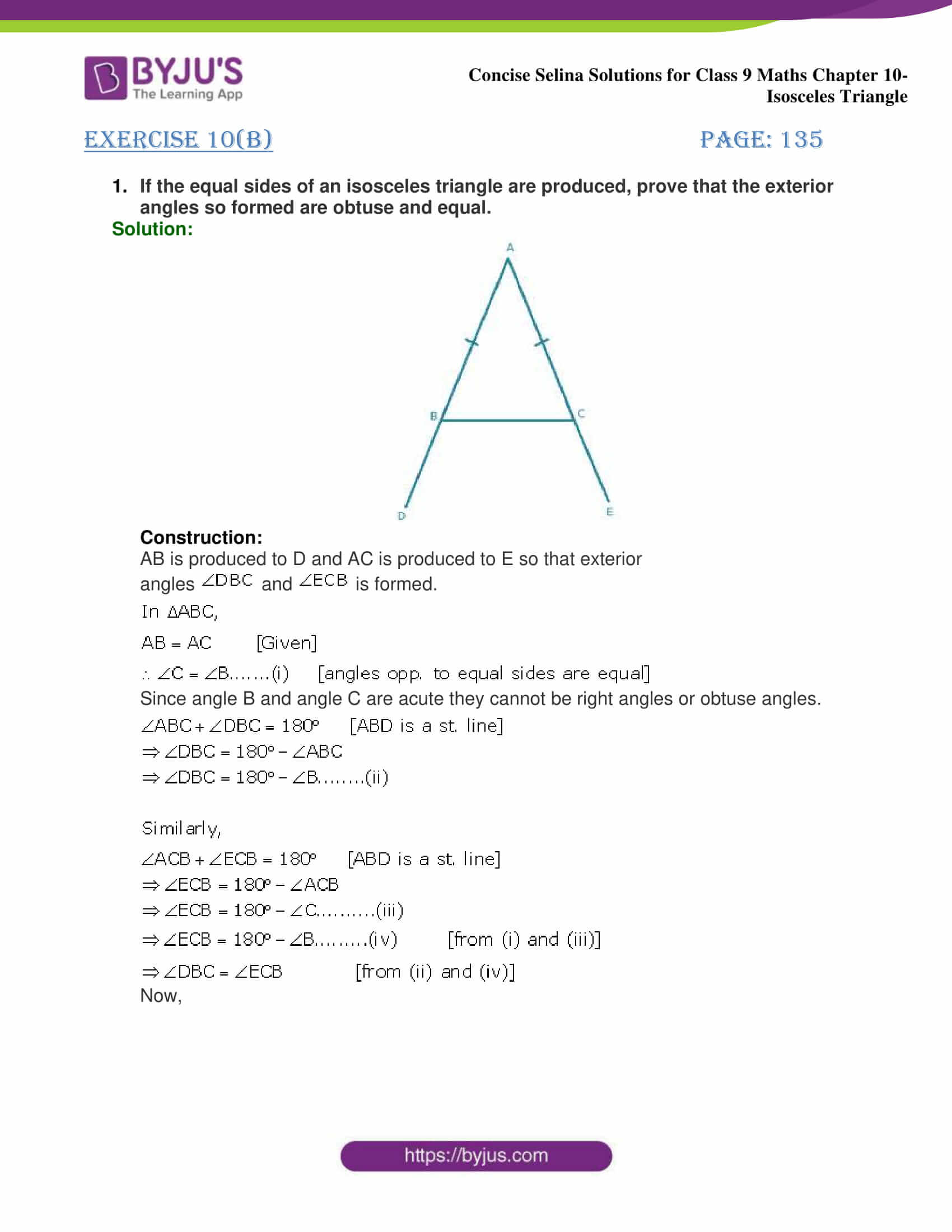 selina Solutions for Class 9 Maths Chapter 10 part 21