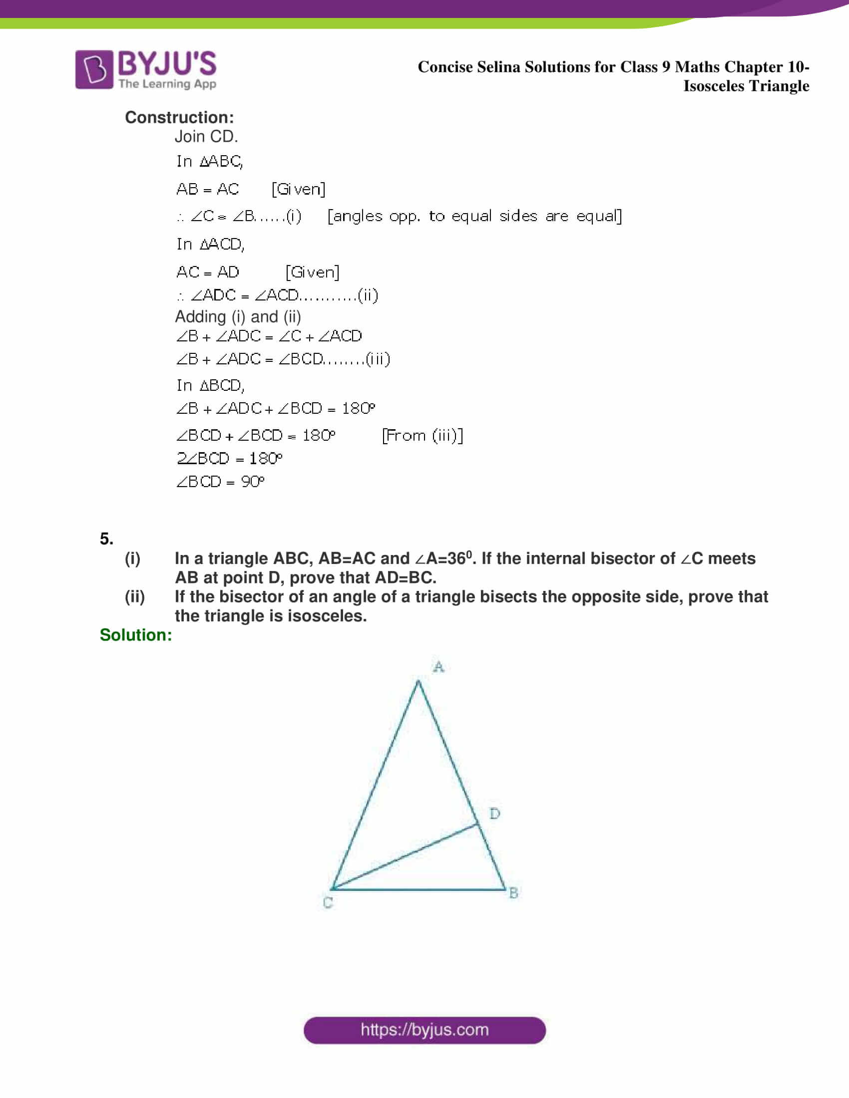 selina Solutions for Class 9 Maths Chapter 10 part 25