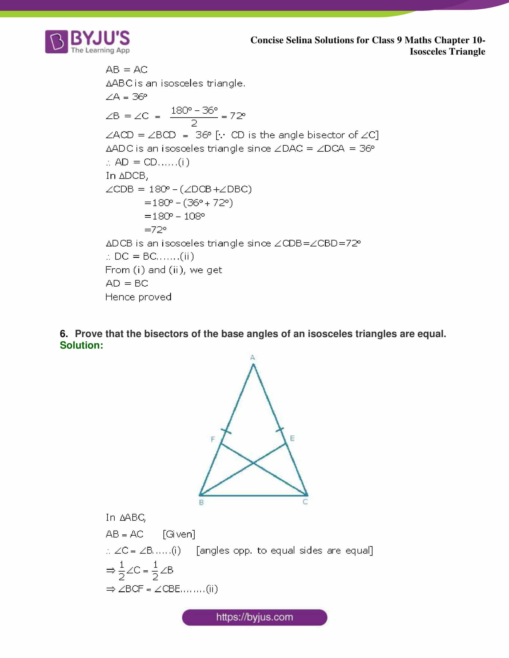 selina Solutions for Class 9 Maths Chapter 10 part 26