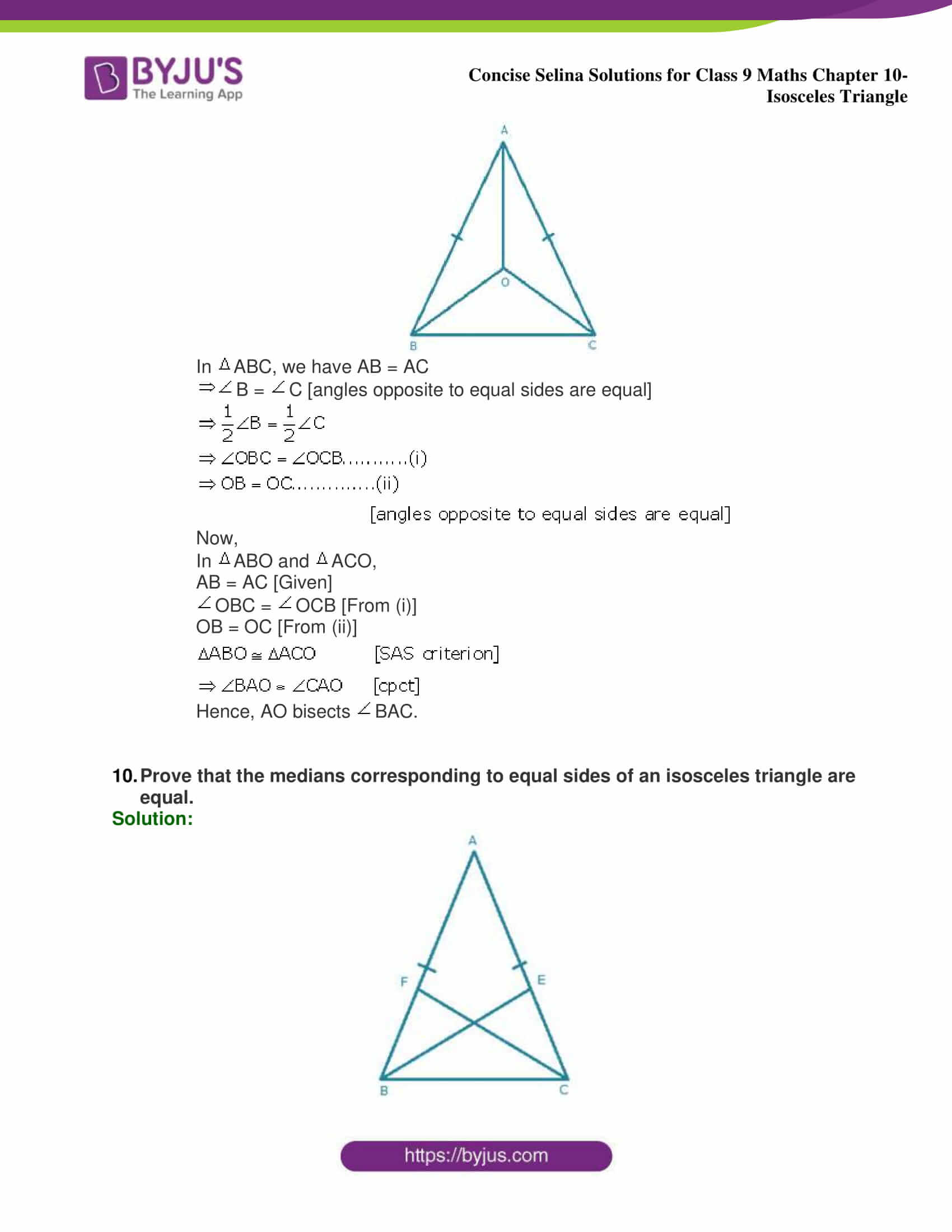 selina Solutions for Class 9 Maths Chapter 10 part 30