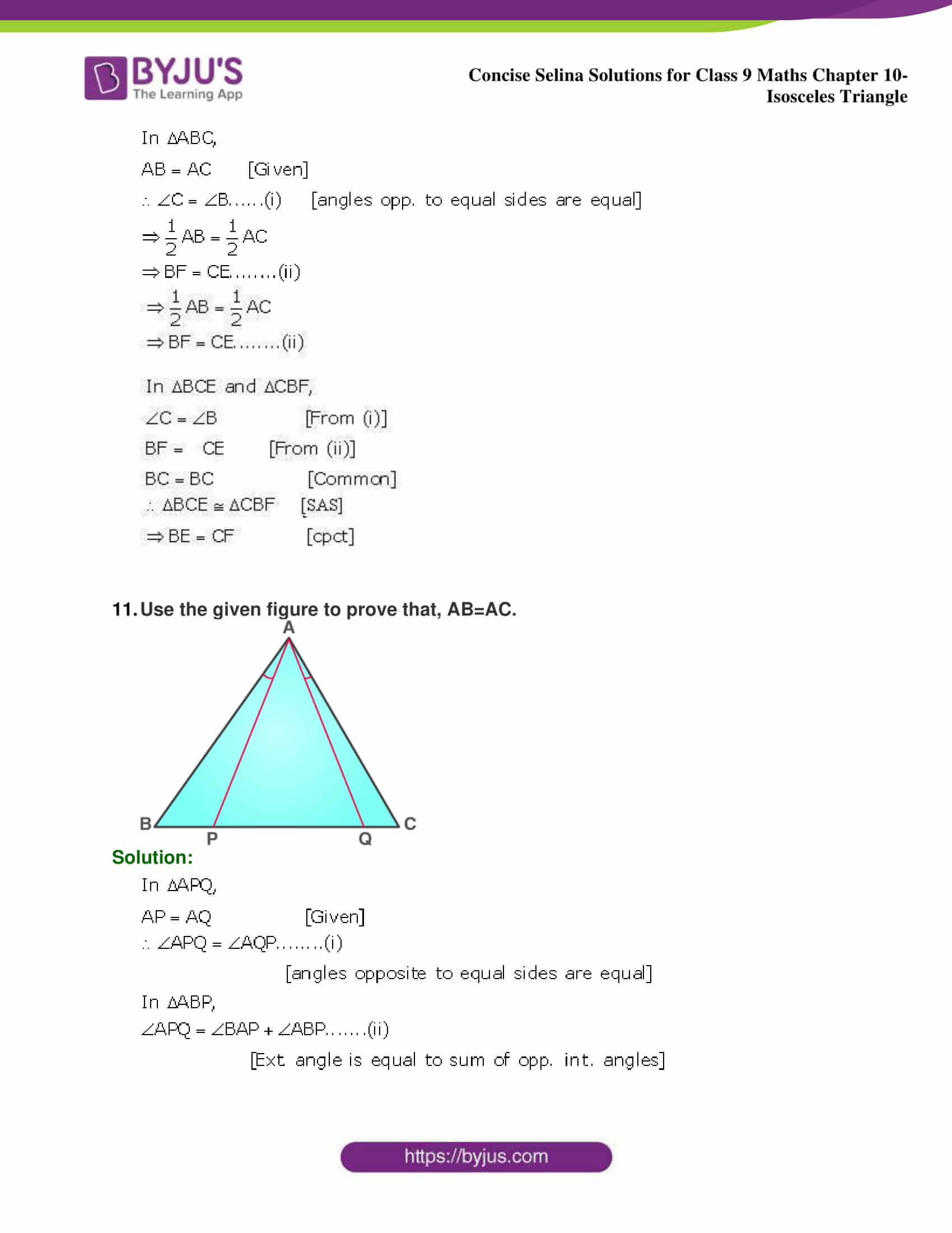 selina Solutions for Class 9 Maths Chapter 10 part 31