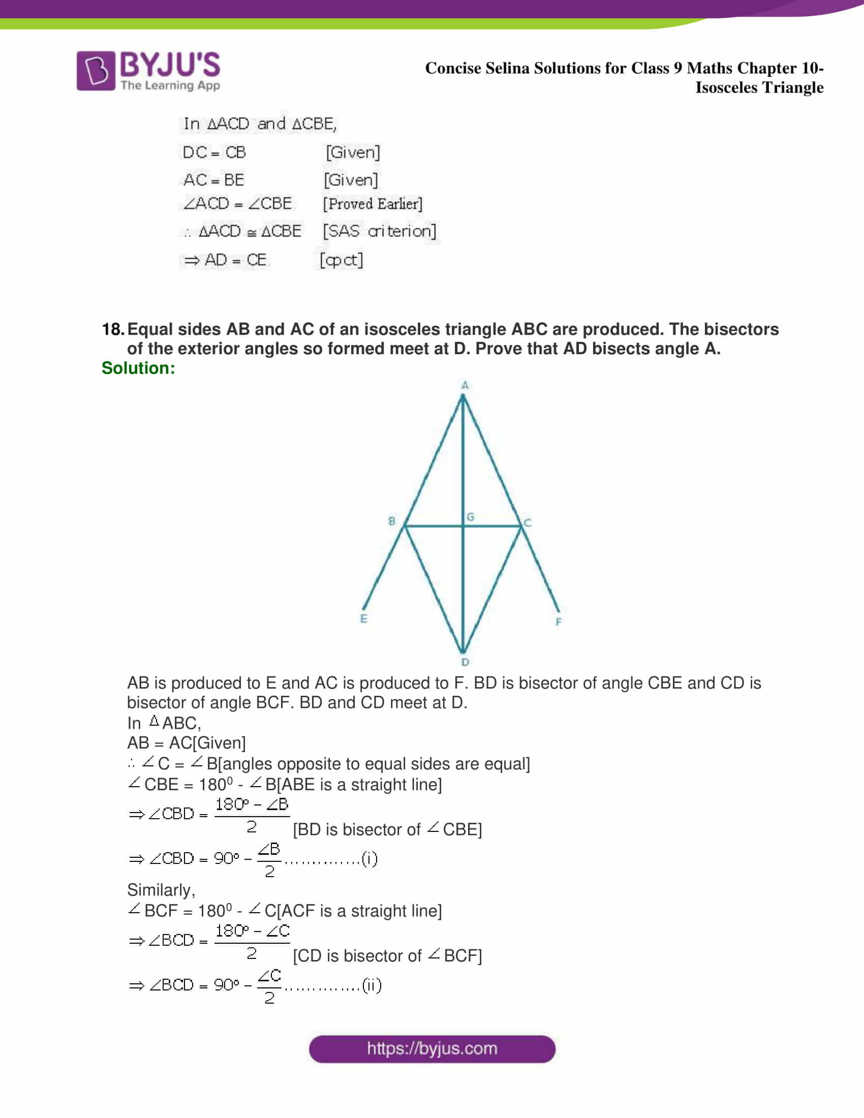 selina Solutions for Class 9 Maths Chapter 10 part 37
