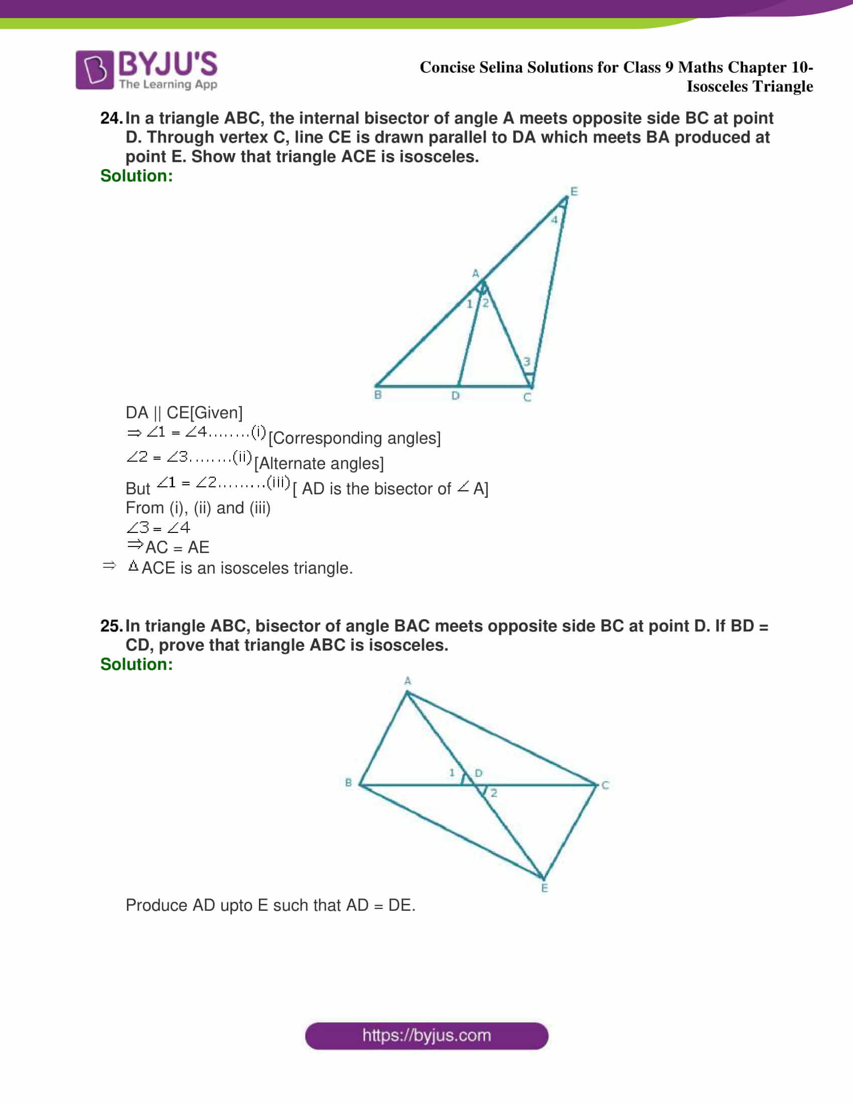 selina Solutions for Class 9 Maths Chapter 10 part 42