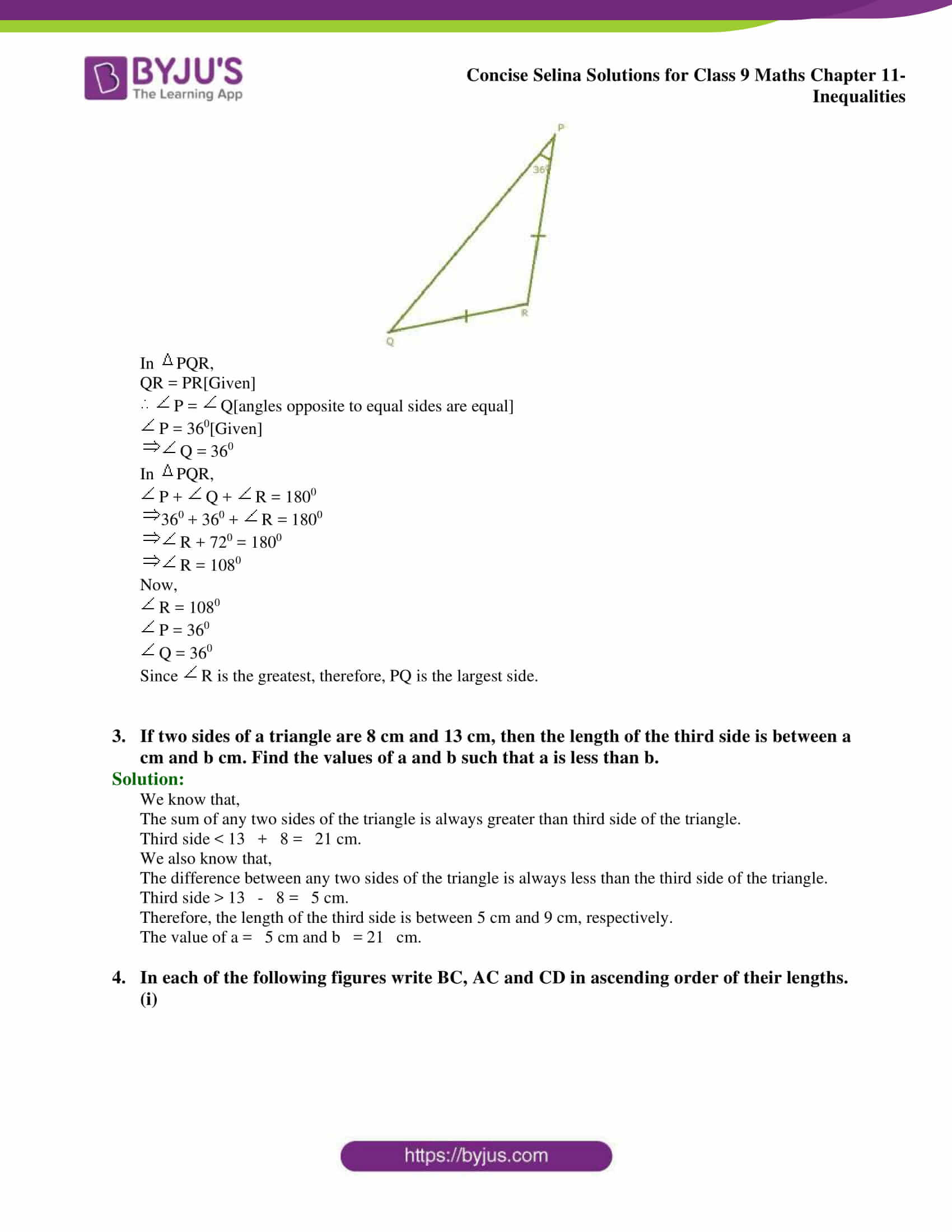 selina Solutions for Class 9 Maths Chapter 11 part 02